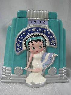"Rare Betty Boop ""1930"" Cookie Jar (100VICK) on eBay!"