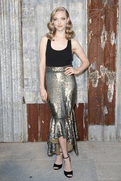 Amanda Seyfried at Givenchy Spring 2016 Ready-to-Wear
