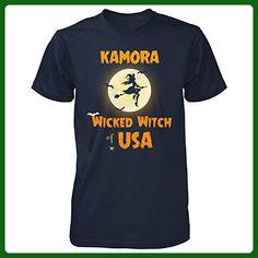 Kamora Wicked Witch Of Usa Halloween Gift - Unisex Tshirt Navy S - Holiday and seasonal shirts (*Amazon Partner-Link)