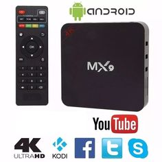 It also features HDR HD and a GPU. Android Wifi, Android Box, Cable Tv Box, Home Internet, Boxes For Sale, Box Tv, Tv Videos, Smart Tv, Hd 1080p