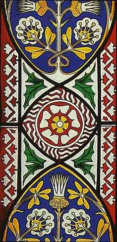 Palacio Güell / Stained Glass, Gaudy Mosaic Art, Mosaic Tiles, Mosaics, Medieval Stained Glass, Man Of La Mancha, Floor Cloth, Antoni Gaudi, Aesthetic Movement, Medieval Art