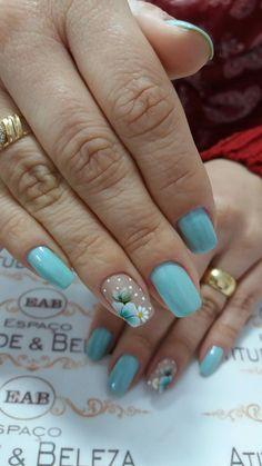 Flower Nail Art, Acrylic Nail Art, Nail Arts, Summer Nails, Gel Nails, Diy And Crafts, Finger, Nail Designs, Nail Salon Decor