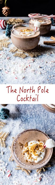 The North Pole Cocktail | halfbakedharvest.com @Half Baked Harvest