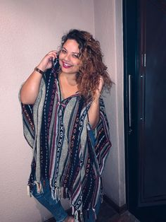 Heat up your winter in our Mexican style ponchos Hippie Clothing Stores, Hippie Clothes Online, Online Clothing Stores, Retail Customer, Mexican Style, Hippie Outfits, South Africa, Kimono Top, Blouse