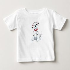 101 Dalmations Puppy Disney Baby T-Shirt - click to get yours right now!