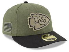 7dedae46c98 Kansas City Chiefs New Era 2018 NFL Salute To Service Low Profile 59FIFTY  Cap