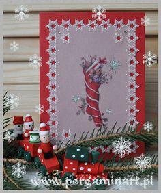 Kalendarz Adwentowy Pergaminart '2013 / Advent Calendar Pergaminart '2013 / parchment christmas card