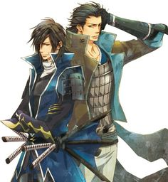 Date Masamune & Katakura Kojuro | Sengoku Basara | ♤ Anime ♤