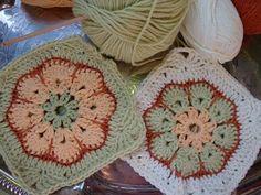 manitoba stitches: african flower