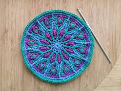 I was tagged by Emily of @theloopystitch to show what I'm up to. I'm playing with my new yarn and testing out a new pattern! A nap time well spent. Patten is Cathedral Window Mandala by @mobiusgirl. And since I've already mentioned you Sandra I may as well tag you for #widn if you'd like to play #cathedralwindowmandala #crochet #crochetlove #crochetaddict #crochetersofinstagram #instacrochet #overlaycrochet #crochetmandala #mandala #ABMcrafty #shescrafty #craftastherapy #colorfullycrafted…
