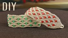 Wavy River - Macrame Bracelet Tutorial #macrame #jewelrymaking #tutorial #pulseras #weaving
