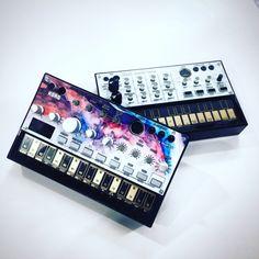 Korg Beats and Volca custom skins now available on www.styleflip.com  #custom #diy #design #keepitsexy #styleflip #dj #edm #turntable #music #electronicmusic #beats #djlife #djlifestyle