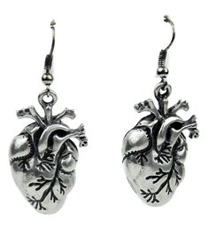 Anatomical Heart Earrings Cosplay from Dysfunctional Doll. Shop more products from Dysfunctional Doll on Wanelo.