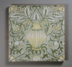 William Morris 'Flowerpots' tile | Flickr - Photo Sharing!