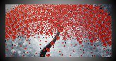 Origineel abstract acryl schilderij moderne door acrylkreativ, $339,00
