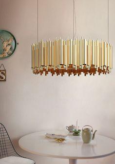 brubeck hanging dining sculptural lamp