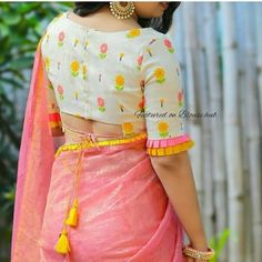 Blouse Design Catalogue For Best Fancy design Blouse Design Blouse Designs High Neck, Cotton Saree Blouse Designs, Simple Blouse Designs, Stylish Blouse Design, Bridal Blouse Designs, Choli Designs, Dress Designs, Blouse Patterns, Traditional Blouse Designs