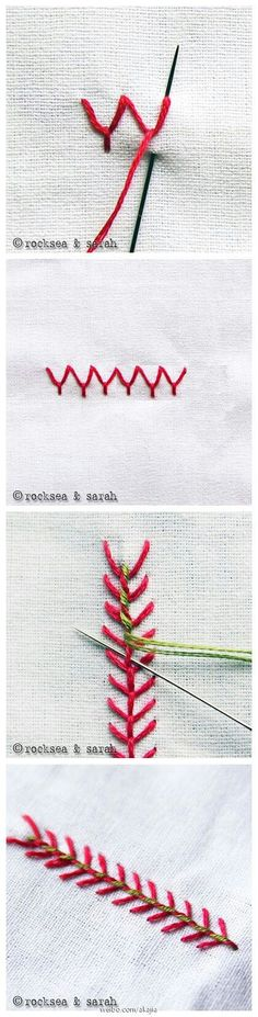 diy embroidery stitches embroidery patterns easy stitich pattern for kids pattern kawaii tutorial cu Embroidery Stitches Tutorial, Sewing Stitches, Embroidery Needles, Embroidery Techniques, Embroidery Applique, Cross Stitch Embroidery, Embroidery Patterns, Simple Embroidery, Fabric Crafts