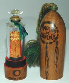 Perfume: 'MADERAS DE ORIENTE' (MYRURGIA), vintage perfume with wood box | eBay
