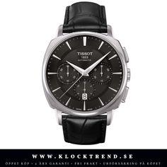 Herrklocka med Automatisk Urverk från Tissot T-Lord⌚️ Stilig klocka som andas business 😉  Upptäck fler lyxiga modeller på www.klocktrend.se   ▪️Öppet köp▪️2 års garanti▪️Fri frakt▪️Allriskförsäkring ingår #watch #design