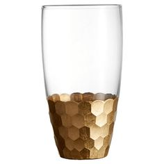 Perfect for special occasions or everyday dinners, this shimmering highball glass adds festive appeal to your home bar or tablescape.  ...