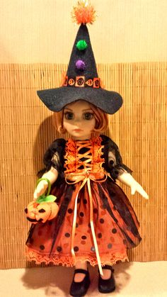 Patsy, Ann Estelle - Halloween Witch Hat Costume Set - by HLee -- Oct. 2. 2013.