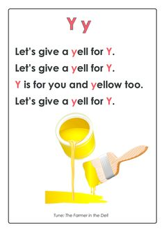 GET premium BUNDLE with this page. *limited time* TAKE IT AWAY. Click. ABC Songs – Letter Y  #cognitive #development #early #learning #rhyme #for #memorization