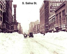 Looking north during the 1910s on South Salina Street!