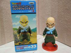 Dragon Ball Z World Collectable Figure 033 Tenshinhan Mega Rare