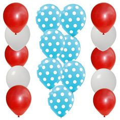 Easy Dr Seuss Party Balloons