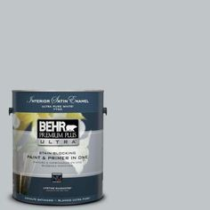BEHR Premium Plus Ultra 1-gal. #N510-2 Galactic Tint Satin Enamel Interior Paint