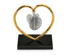 Heart to Heart Dreidel by Michael Aram