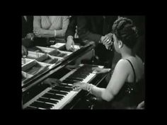 Great Piano of Hazel Scott. One of the greatest pianists of her time who became a mainstay on the jazz scene, challenging conceptions about blacks and women. She contributed as much as Billie Holiday and Lena Horne did to the advancement of African-American women.