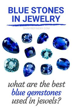 Blue Stones and Crystals In Jewelry_ Best Blue Gemstones Used In Jewels #jewelry #gems #gemstones #crystals #blue Blue Zircon, Blue Sapphire, Turquoise Stone, Turquoise Jewelry, Gemstone List, Fake Stone, Red Gemstones, Stone Jewelry, Stones And Crystals