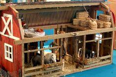 miniature barn http://myminiaturecreations.com/miniature-creations.php