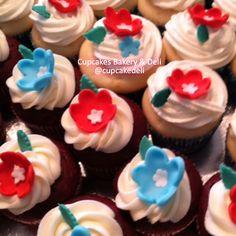 Vanilla w/lemon filling. Red Velvet w/cream cheese filling. Chocolate w/raspberry filling. Cupcakes Bakery  Deli, Pasco, WA