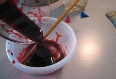 Microfilmmaker Magazine - Tips & Tricks - No-Cook Edible Fake Blood for Mouth Wounds
