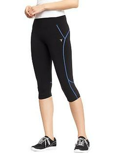"""Women's Active by Old Navy Cropped Compression Pants (16"""") 