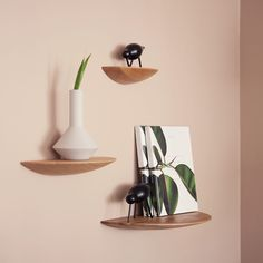 shelf and wall decoration Decor, Floating Shelves, Collectible Figurines, Wall Decor, Shelves, Interior, New Homes, Home Decor, Contemporary Furniture