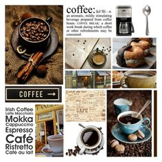 """""""Morning Coffee"""" by leegal57 ❤ liked on Polyvore featuring art"""