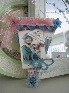 Birthday Pennant - Vintage Style