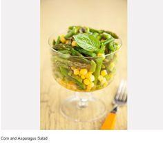 Corn  Asparagus Salad    Recipe: http://www.pauladeen.com/recipes/recipe_view/corn_and_asparagus_salad/