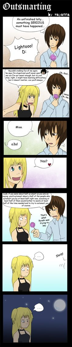 Death Note: Outsmarting by *mayanna on deviantART