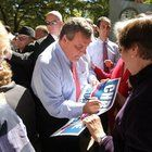 View full sizeGov. Chris Christie, shown here during a recent campaign stop in Paramus, recorded three TV ads for fellow Republicans hoping to gain control of the state Senate.John O'Boyle/The Star-Ledger  TRENTON — Gov. Chris Christie likes to say his...