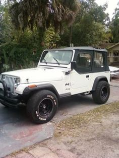 I am in love with my Jeep YJ.  It is a 1995 (built deep into '96) Wrangler YJ with a 2.5 liter motor and an AX-5 transmission.   Yes, I will upgrade the