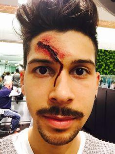 Hallowen 2015 make up Renato coiffeur