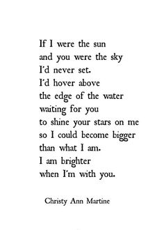 Anniversary Gifts for Husband or Wife - Long Distance Gift for Boyfriend or Girlfriend - If I Were the Sun Poem Love Poem Print - 5 x 7 Love Poems For Boyfriend, Boyfriend Gifts, Girlfriend Poems, Sun Poem, Long Distance Gifts, Long Distance Love Poems, Free Poems, O Words, Poems Beautiful