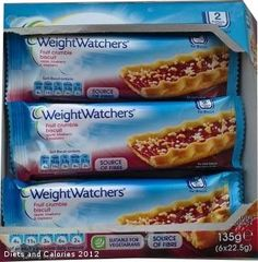 Weight Watchers Fruit Crumble Biscuits