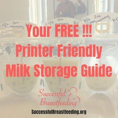 When you're pumping breastmilk you also need to know breastmilk storage guidelines and how to warm breastmilk for a bottle. How long does your breastmilk last in the fridge? Grab our printer friendly milk storage guidelines now! How To Breastfeed Newborns, Breastfeeding Positions, Breastfeeding Problems, Breastfeeding Support, Breastfeeding And Pumping, How To Warm Breastmilk, Pumping At Work, Increase Milk Supply, Breastmilk Storage