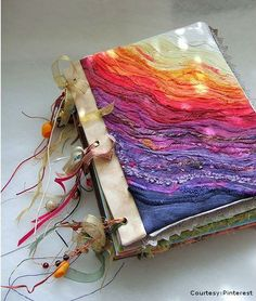 Decorating a Journal Cover | resolution journal make a resolution journal for your guests and place ...